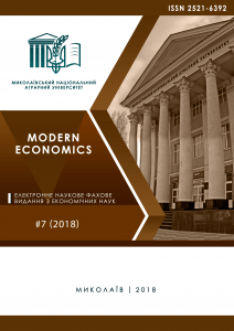 Modern Economics 7(2018)