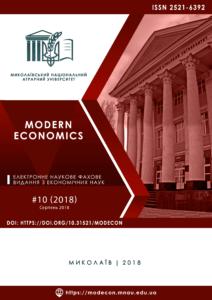 Modern Economics 10(2018)
